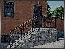 лестницы и перильные ограждения